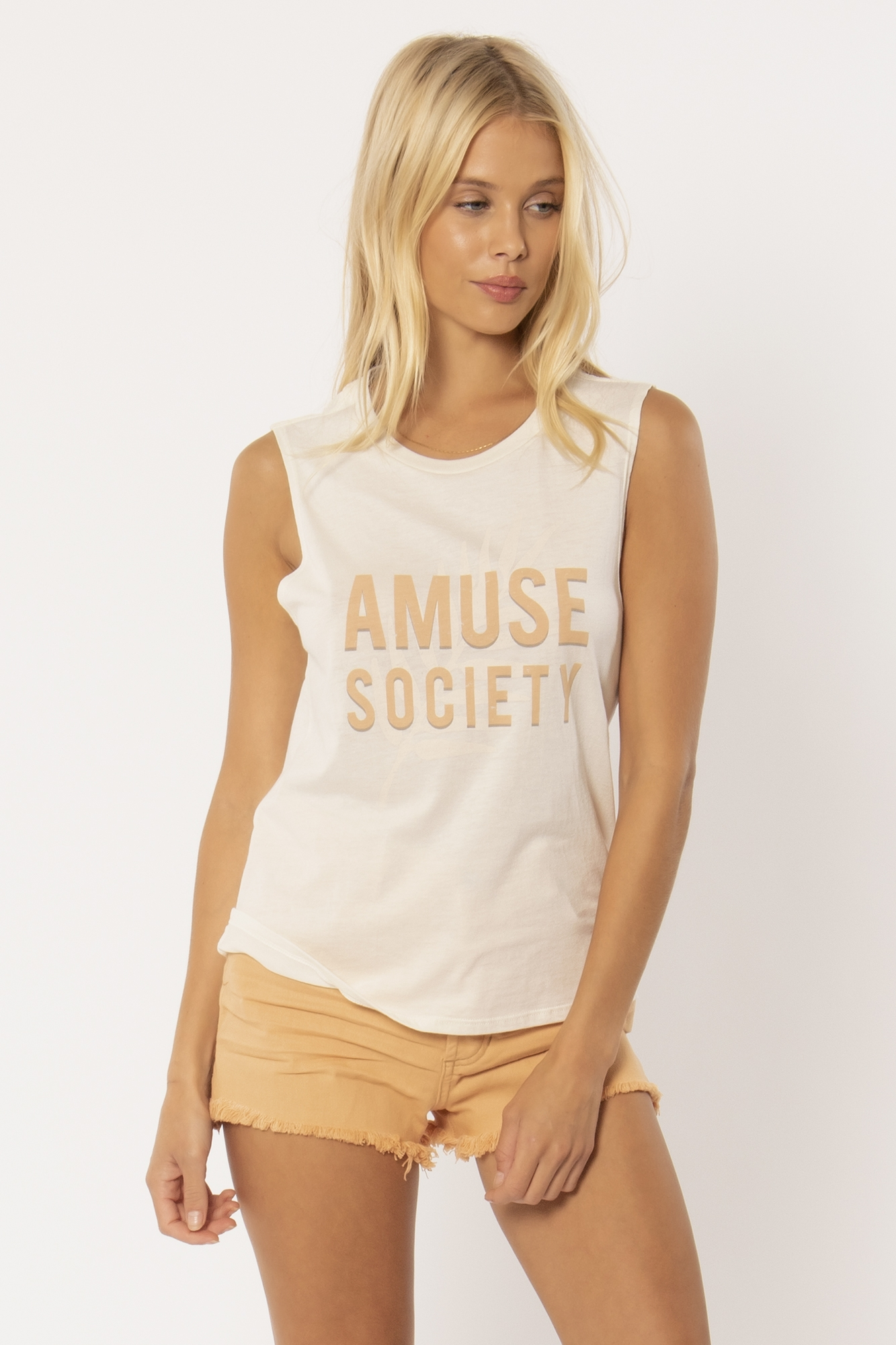 Amuse Palm Muscle Tee