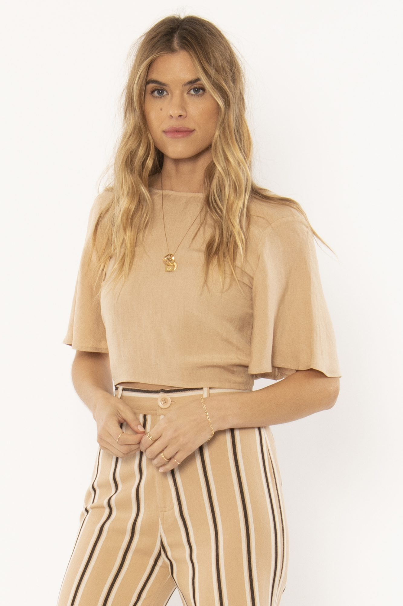Brie Woven Top