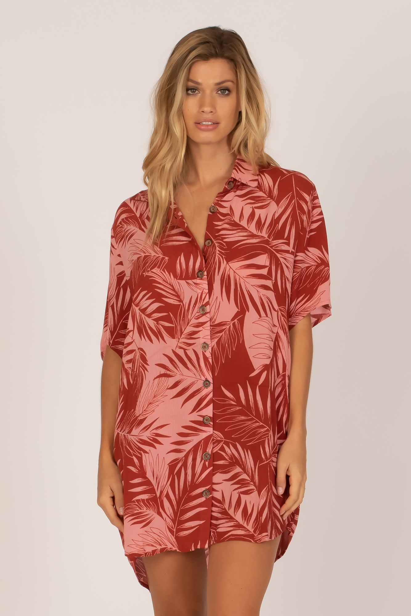 Shady Palms Dress
